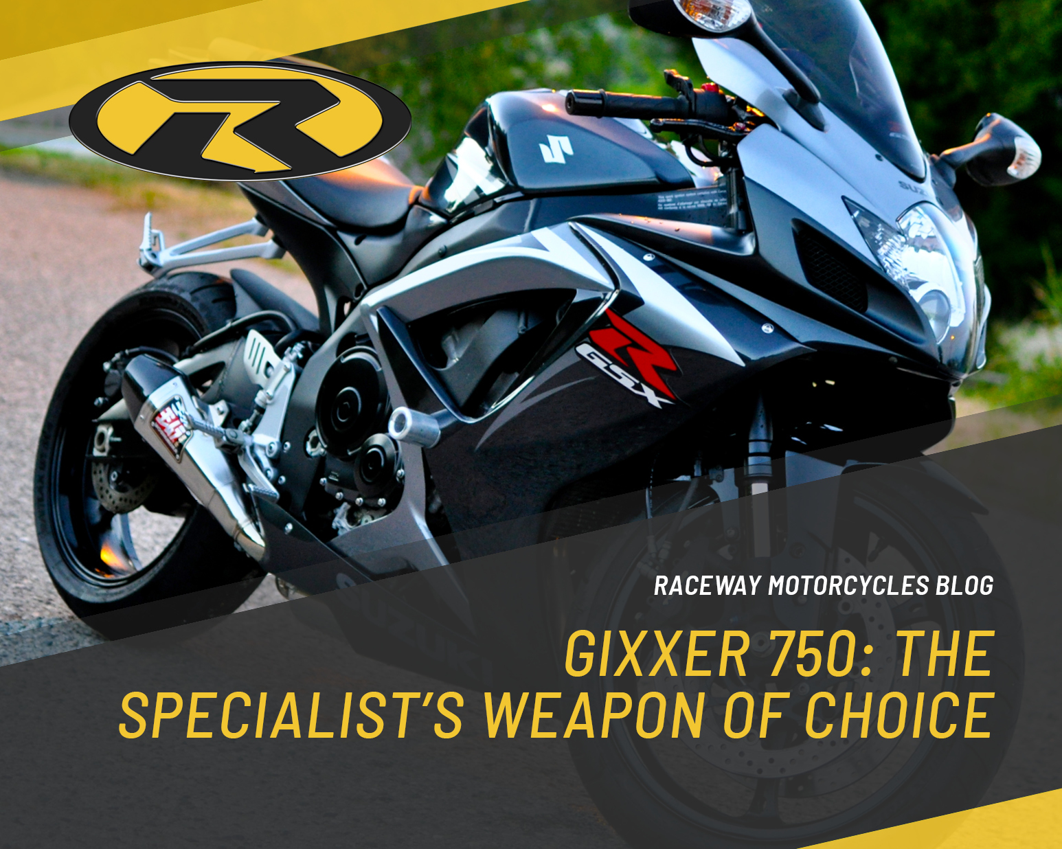 Gixxer 750: The Specialist's Weapon Of Choice
