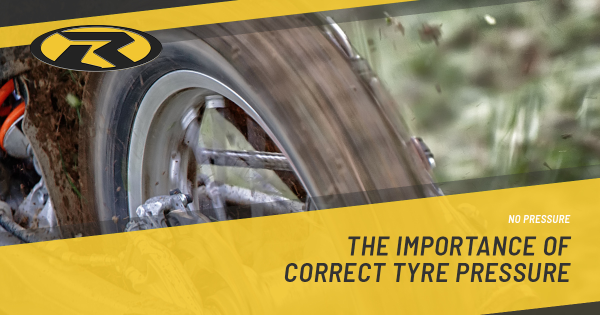 No Pressure – The importance of correct tyre pressure