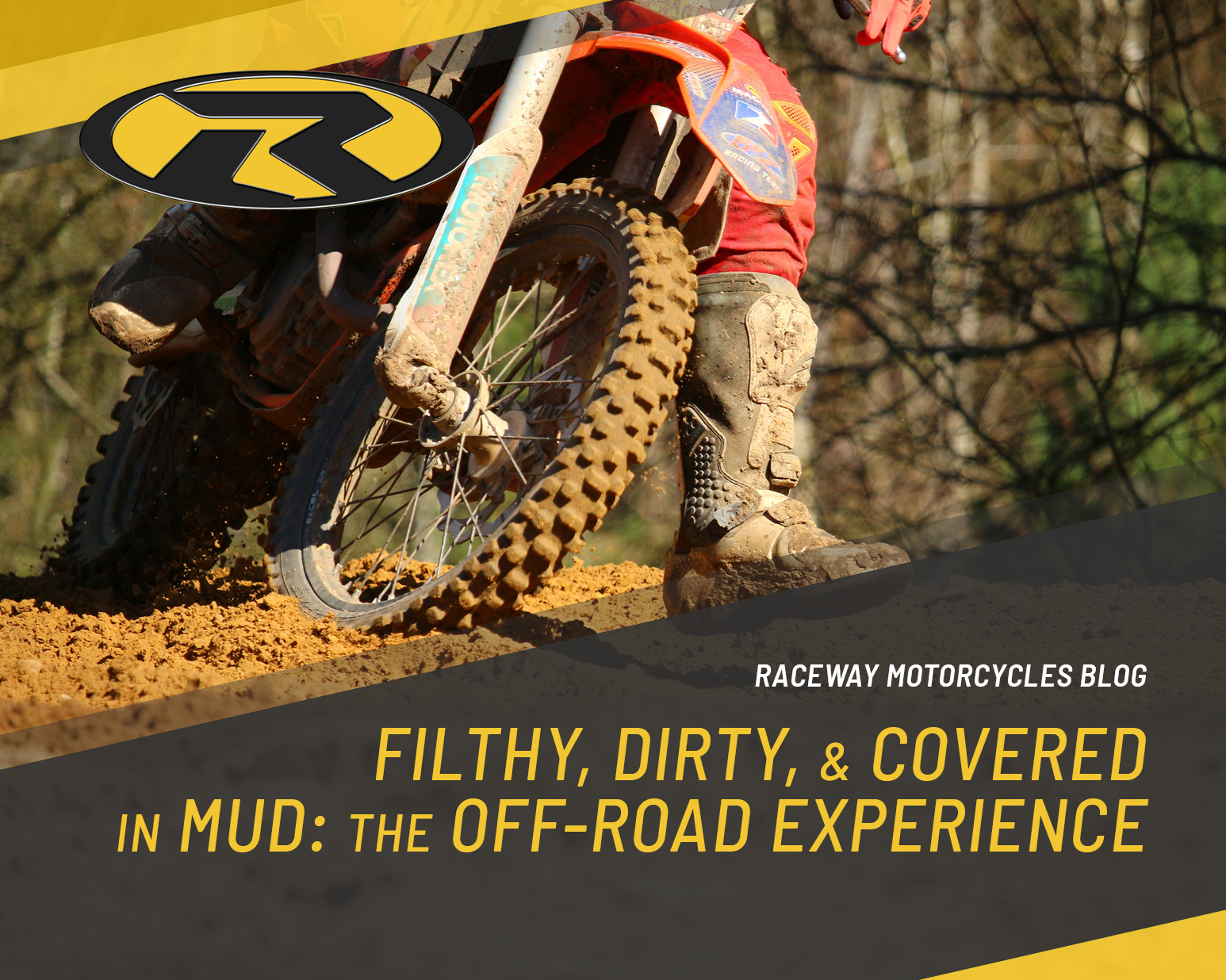Filthy dirty and covered in mud – The off road experience