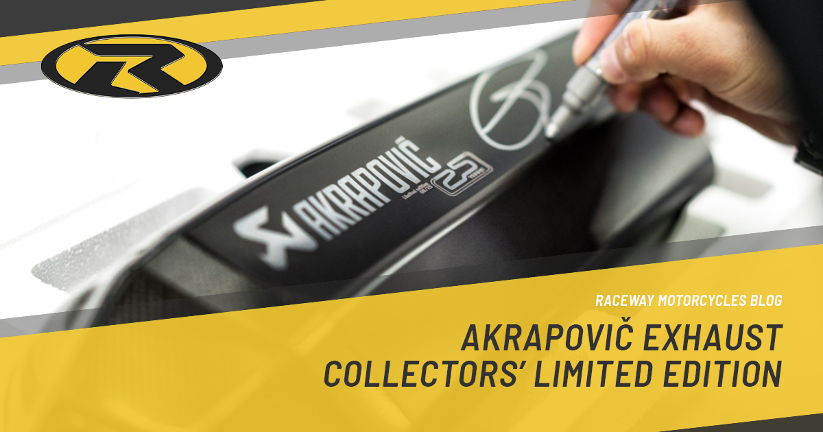 Akrapovic Exhaust Collectors Limited Edition