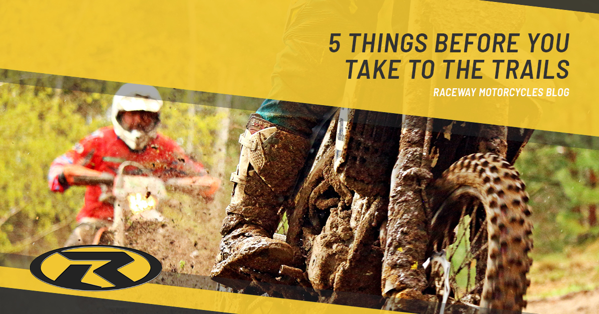 5 Things before you take to the trails