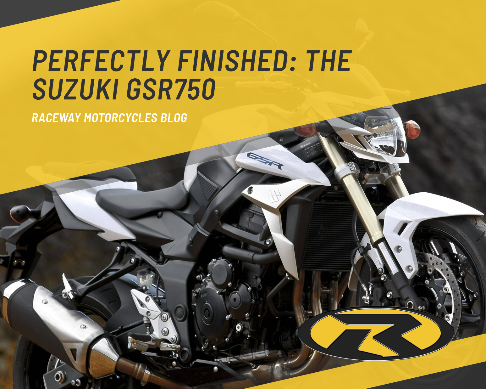 Perfectly finished: The Suzuki GSR750