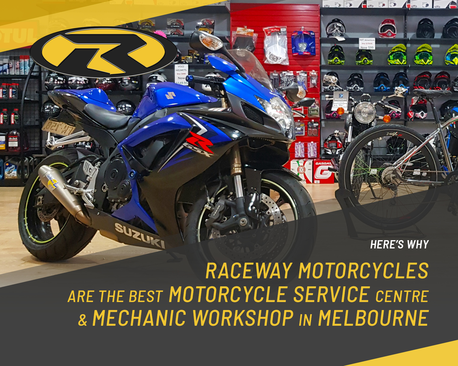 Here's Why Raceway Motorcycles Are the Best Motorcycle Service Centre & Mechanic Workshop in Melbourne
